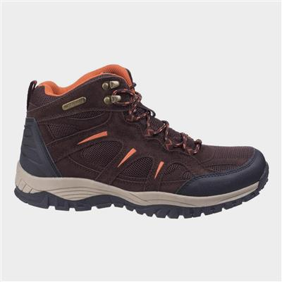 Mens Stowell Hiking Boot in Brown