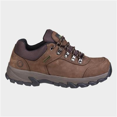 Mens Hawling Lace Up Shoe in Brown