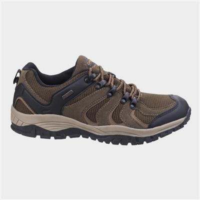 Mens Stowell Low Hiking Shoe in Brown