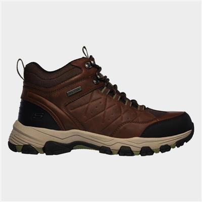 Mens Selmen Telago Hiking Boot in Brown