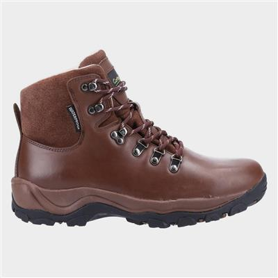 Womens Barnwood Hiking Boot in Brown