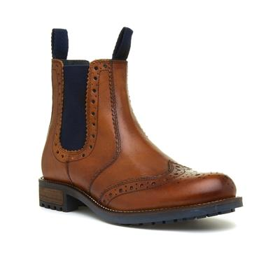 Mens Tan Chelsea Boot