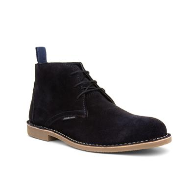Carnaby III Navy Lace Up Boot
