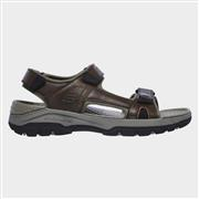 Skechers Tresmen Hirano Velcro Sandal in Brown (Click For Details)