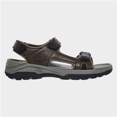 Tresmen Hirano Velcro Sandal in Brown