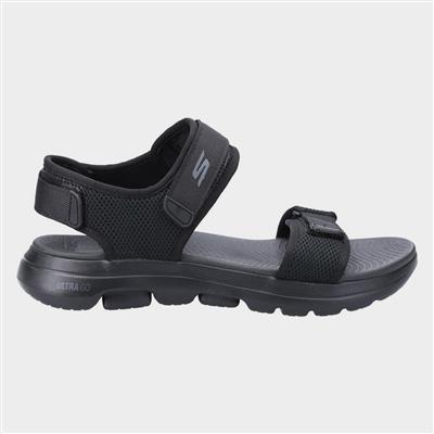 Mens Go Walk 5 Cabourg Sandal in Black