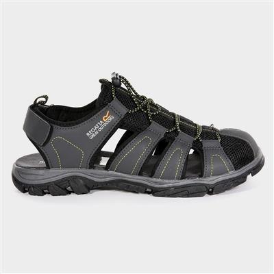 Westshore Mens Brown Closed Toe Sandal