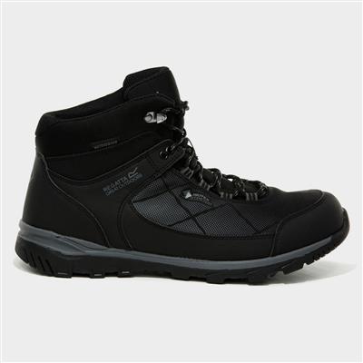 Highton Mens Black Hiking Boot