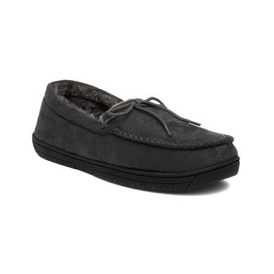 Mens Moccasin Grey Slipper