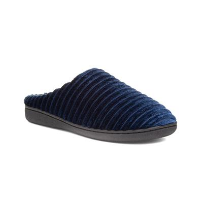 Mens Mule Navy Slipper