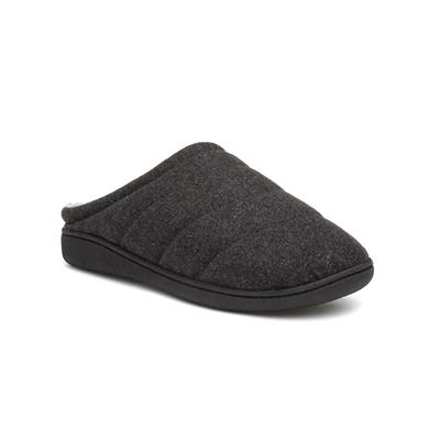 Mens Mule Grey Slipper