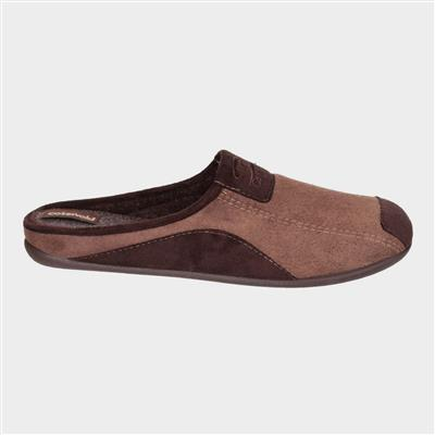 Mens Westwell Slipper in Brown