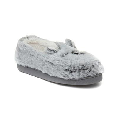 Womens Bear Moccasin Slipper