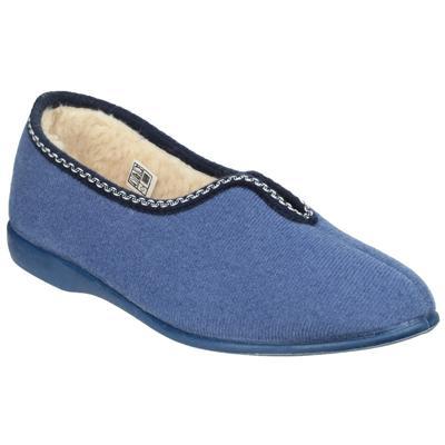 Helsinki Classic Womens Slippers in Blue