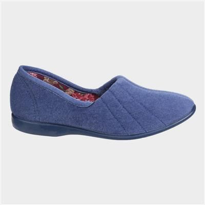 Womens Audrey Slipper in Blue