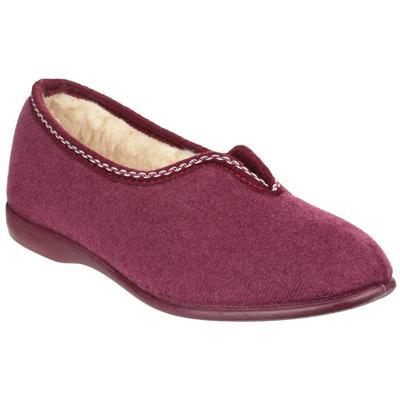 Womens Helsinki Classic Slippers in Purple