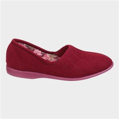 Womens Audrey Slipper in Red