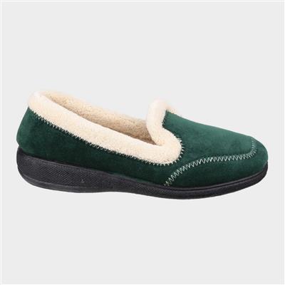 Womens Maier Slipper in Green