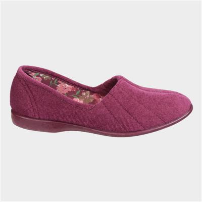 Womens Audrey Slipper in Purple