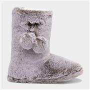 The Slipper Company Womens Mink Faux Boot Slipper (Click For Details)