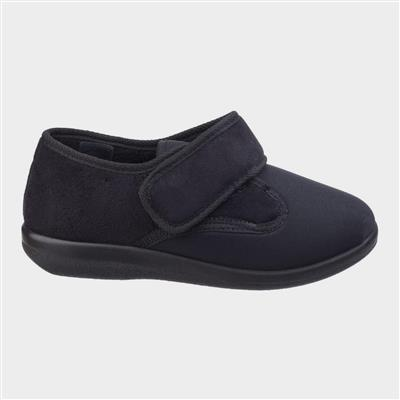 Unisex Frenchay Classic Slippers in Black