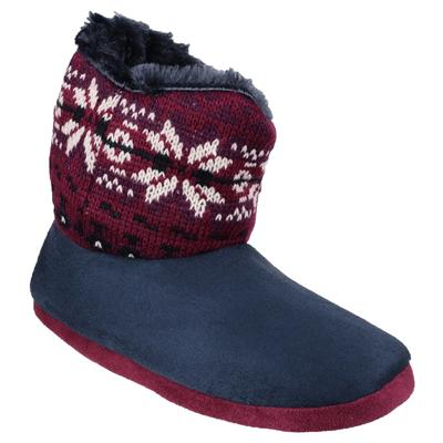 Womens Bergen Slipper in Blue