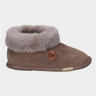 Womens Wotton Bootie in Brown