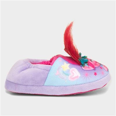 Kids Poppy Slipper in Lilac