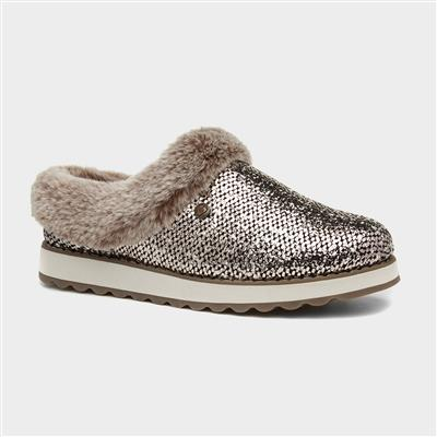 BOBS Keepsakes Womens Rose Gold Slipper