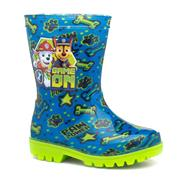 Paw Patrol Kids Blue & Green Wellington Boot (Click For Details)