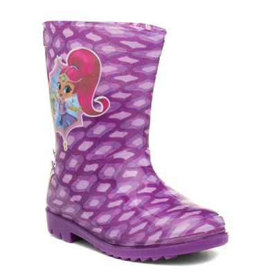 Shimmer & Shine Kids Purple Wellington Boots
