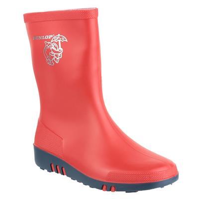 Mini Kids Red Wellington Boot