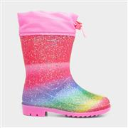 Girls Rainbow Wellington Boots (Click For Details)