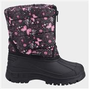 Cotswold Iceberg Girls Black Zip Up Snow Boot (Click For Details)
