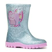 Peppa Pig Kids Silver Wellington (Click For Details)