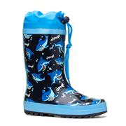 Wellygogs Kids Shark Print Wellington (Click For Details)