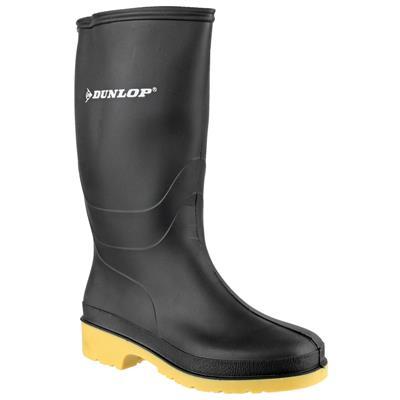 Dulls Senior Kids Wellington Boot in Black
