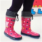 Regatta Peppa Splash Girls Welly in Pink (Click For Details)
