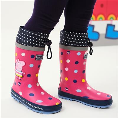 Peppa Splash Girls Welly in Pink