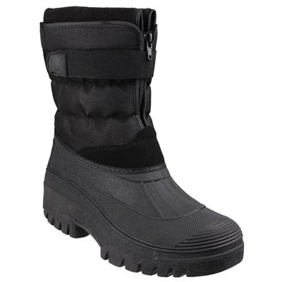Womens Chase Black Water Resistant Boot