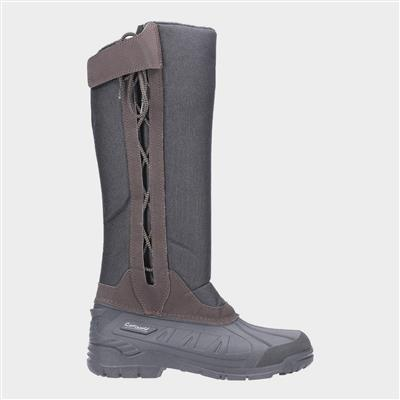 Womens Blockley Slip On Boot in Brown