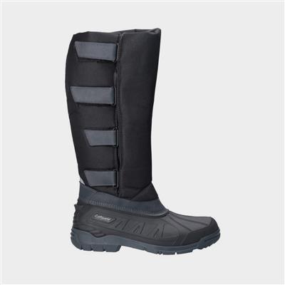 Kemble Womens Black Snow Boot