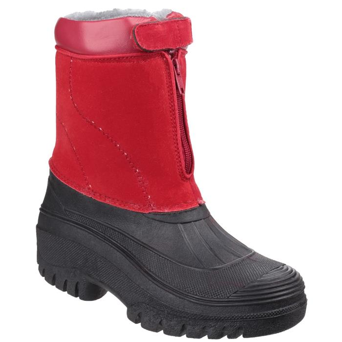 Vintage Winter Retro Boots – Snow, Rain, Cold Cotswold Venture Womens Boot in Red £29.99 AT vintagedancer.com