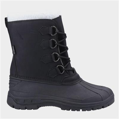 Snowfall Womens Snow Boot in Black