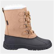 Cotswold Snowfall Womens Snow Boot in Brown (Click For Details)