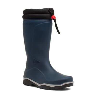 Womens Blue Warm Lined Wellington Boot