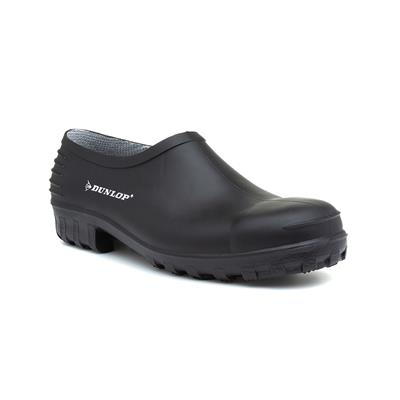 Mens Black Garden Welly Shoe 814P