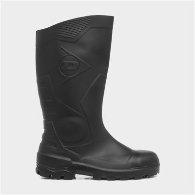 Devon Adults Safety Wellington in Black
