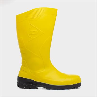 Devon Adults Safety Wellington in Yellow