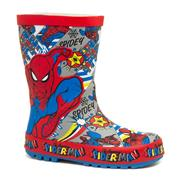 Spiderman Eagle Kids Multi-Coloured Welly (Click For Details)